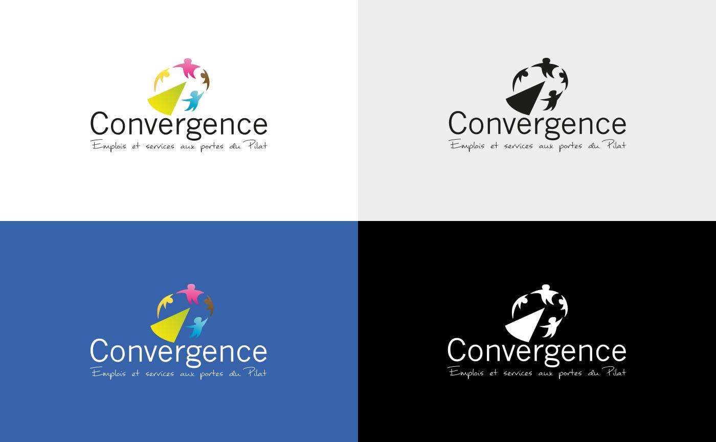 variantes logo Concergence