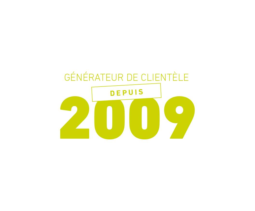 Depuis 2009