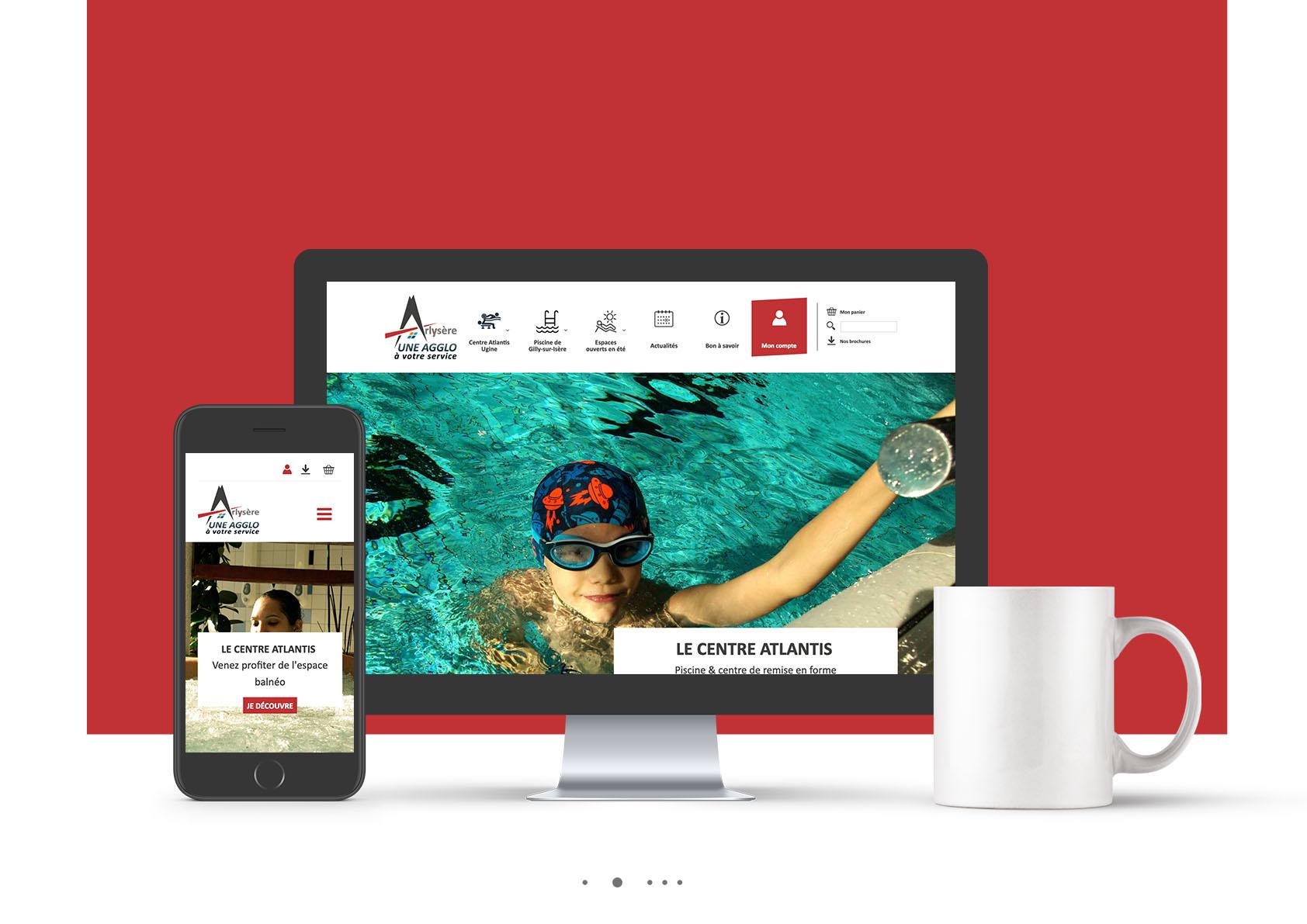 Site internet agglo Arlysere