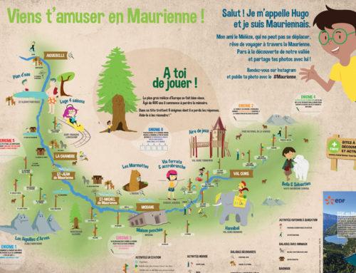 Carte touristique – Maurienne Tourisme