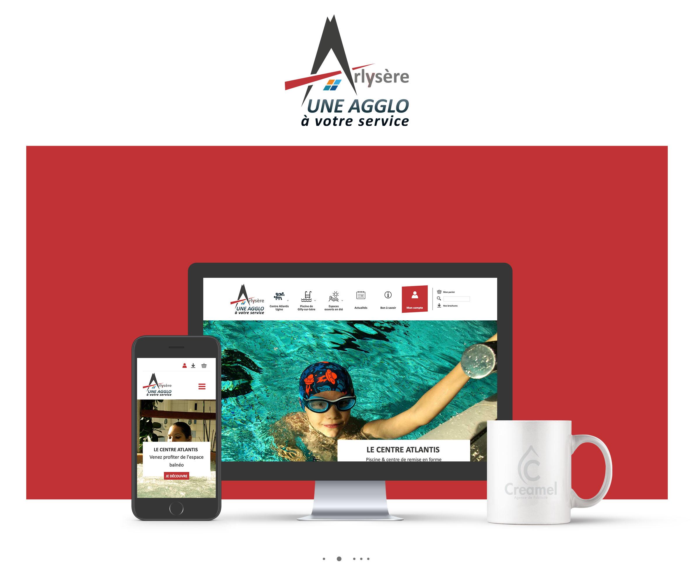 Communauté d'agglomération Arlysère - Webdesign