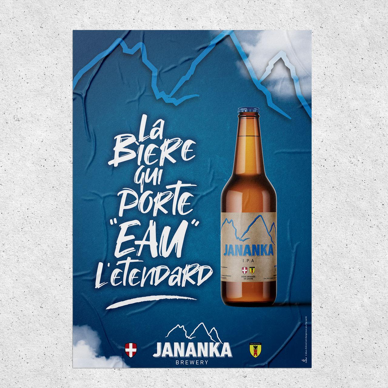 Affiche Jananka Brewery