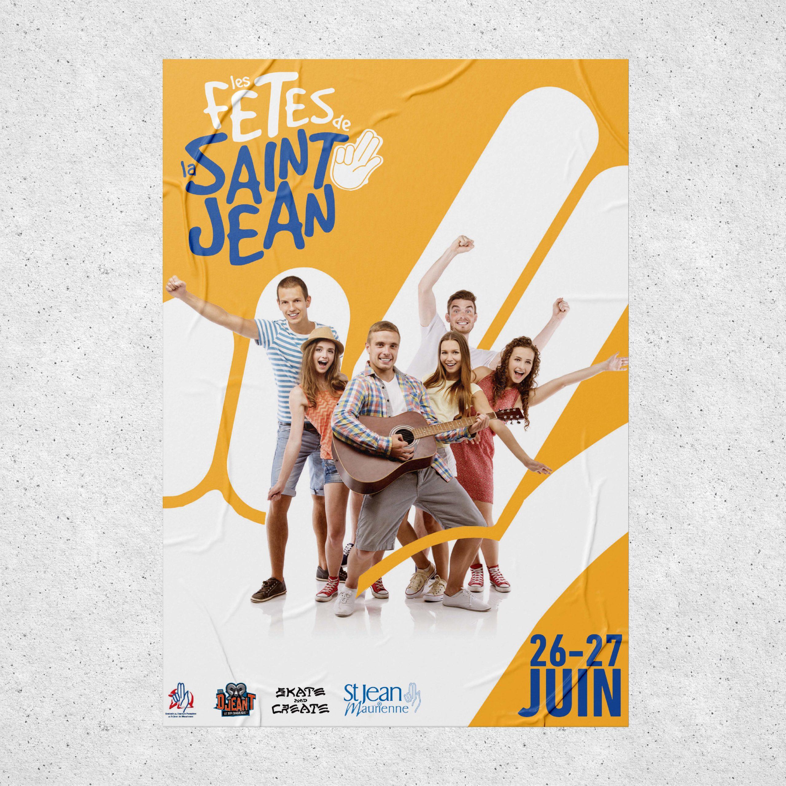 Affiche fête de la Saint jean