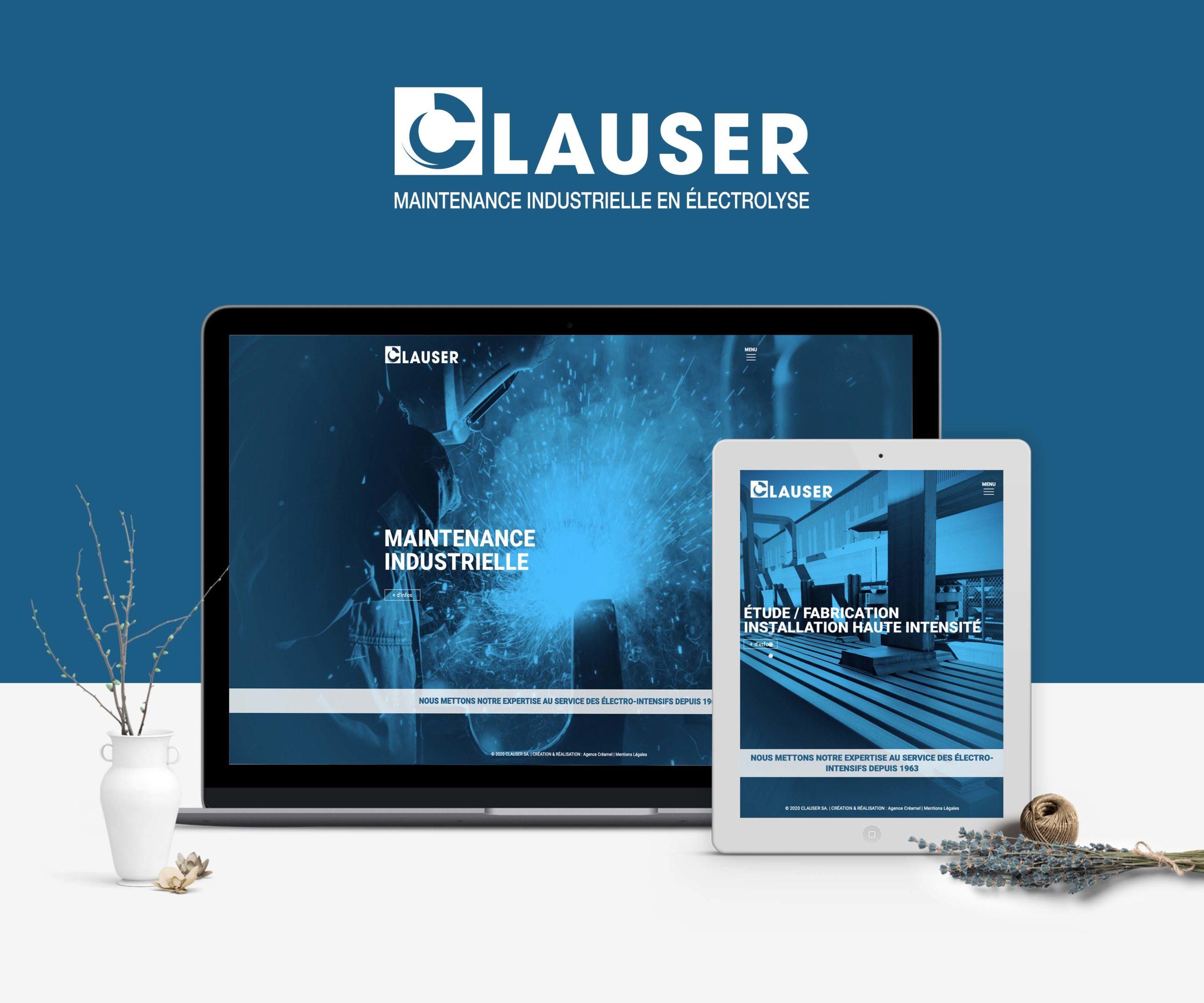 Site Internet Clauser