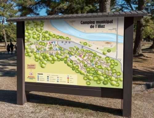 Station de Bessans – Plan du camping